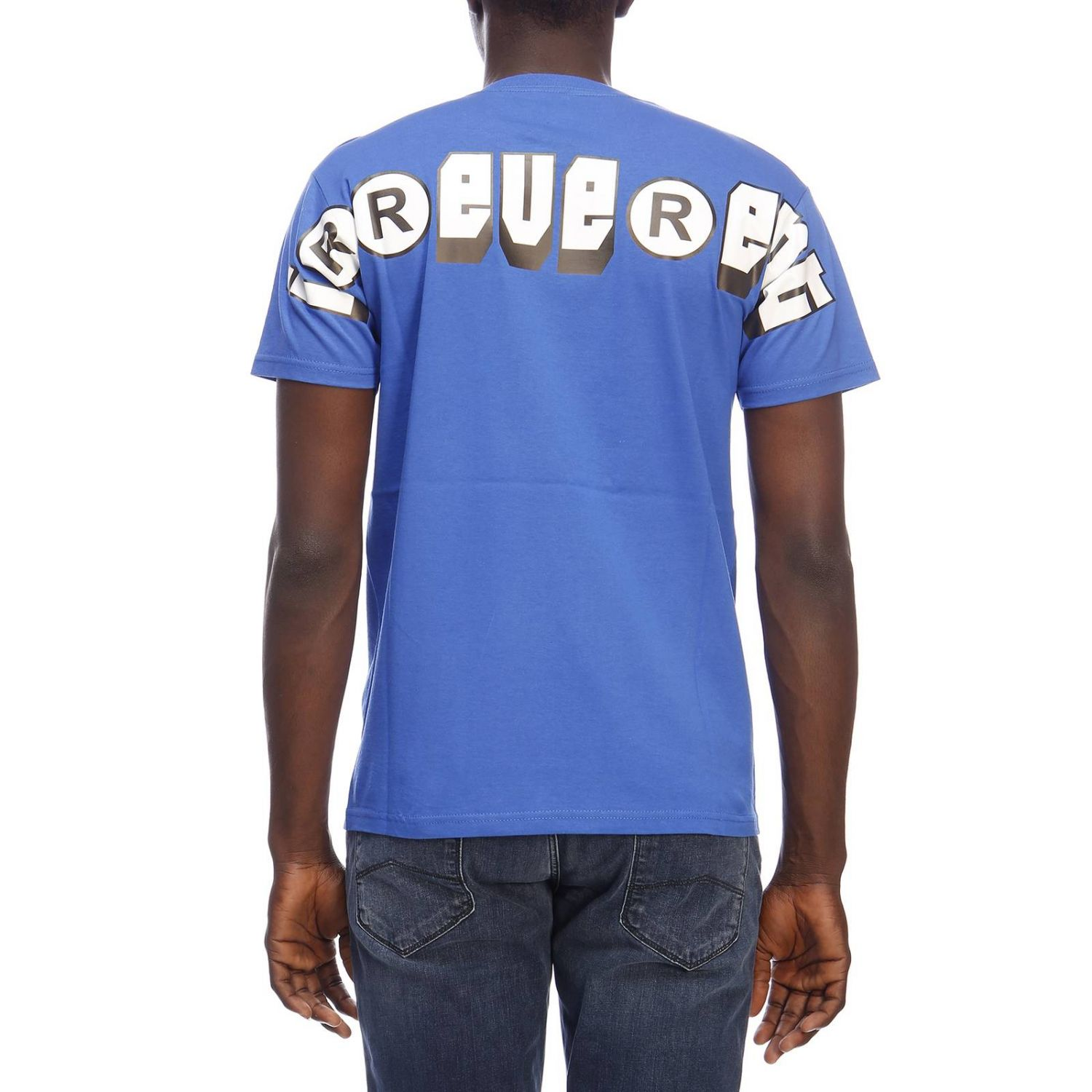 T-shirt homme Sold Out bleu royal 3