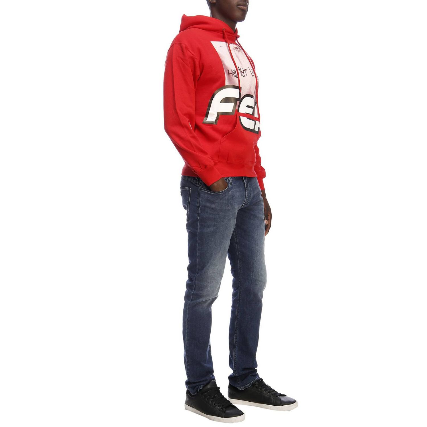 Pull homme Sold Out rouge 5