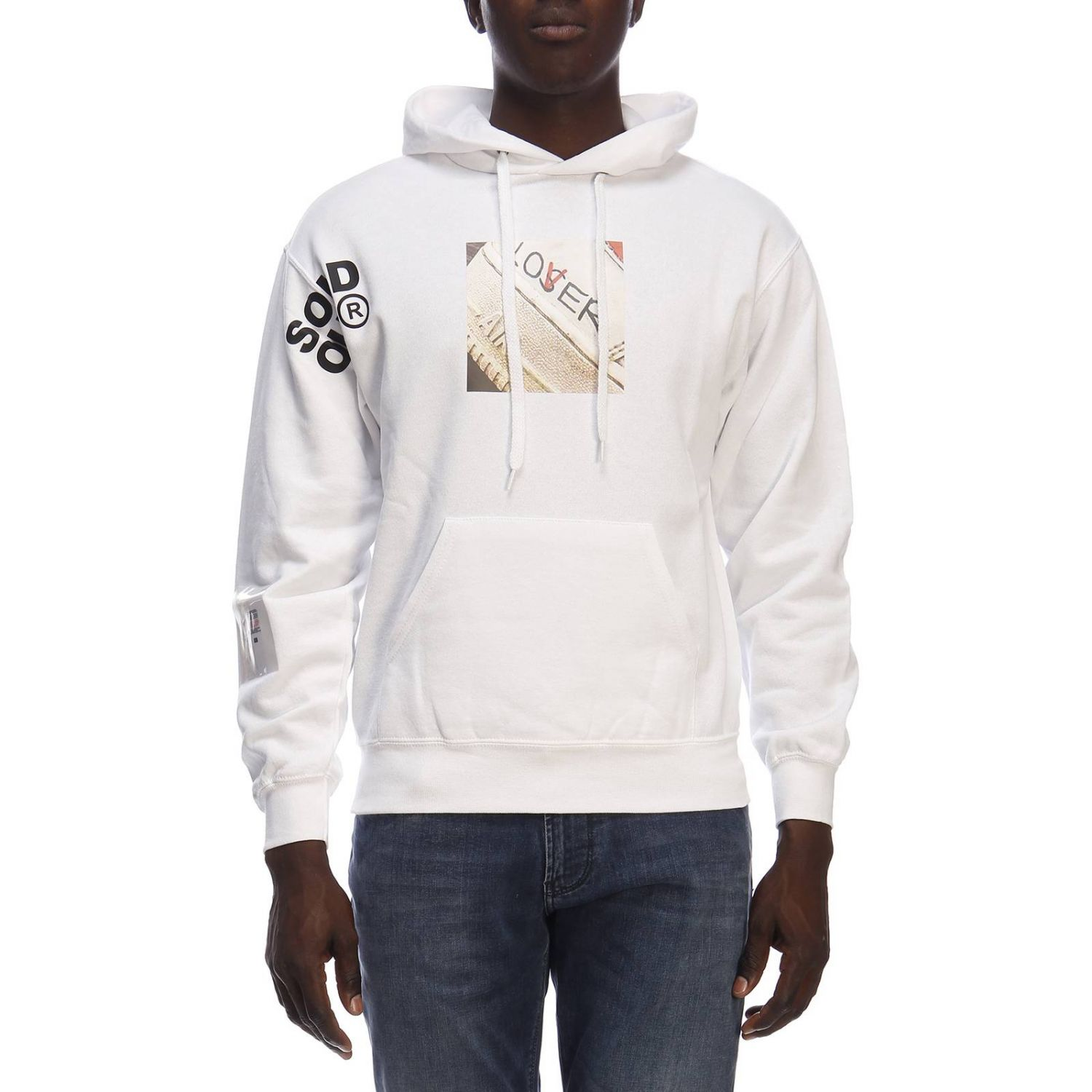 Pull homme Sold Out blanc 1