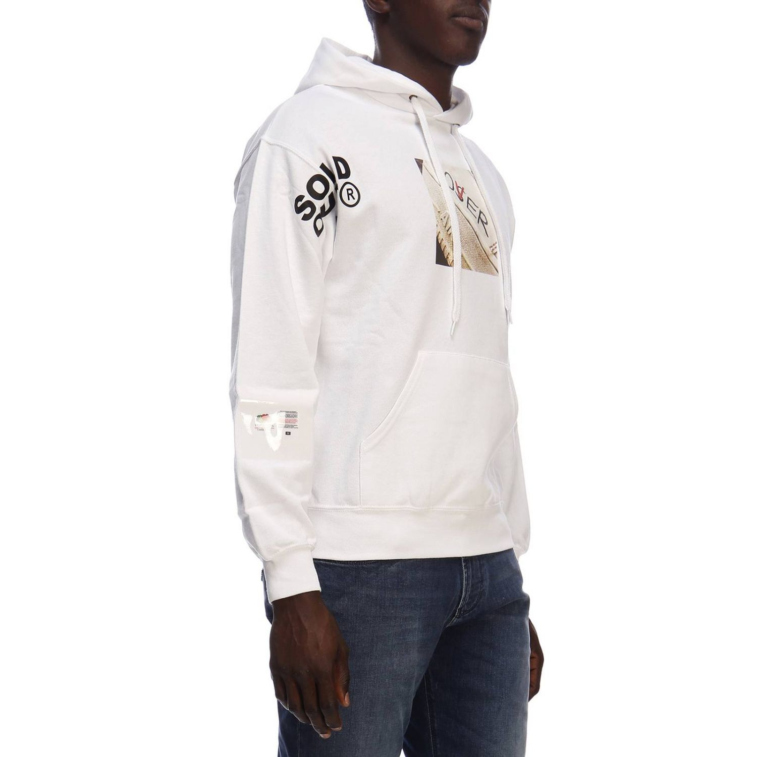 Pull homme Sold Out blanc 2