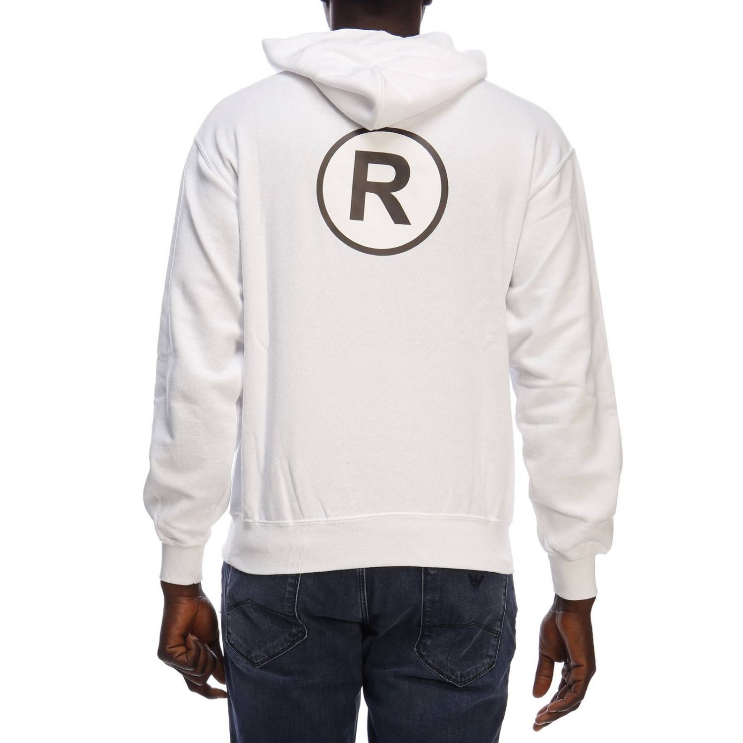 Pull homme Sold Out blanc 3