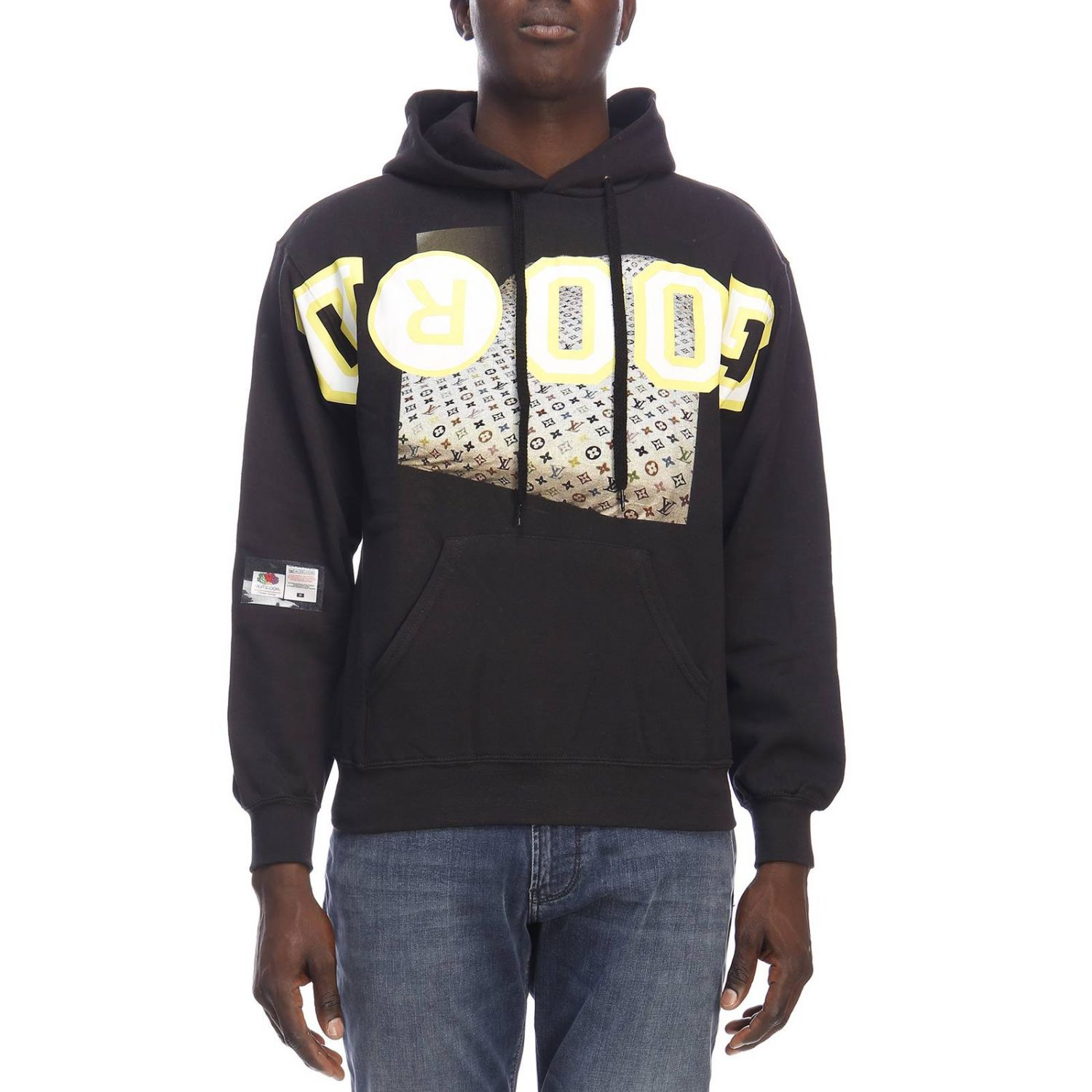 Pull homme Sold Out noir 1