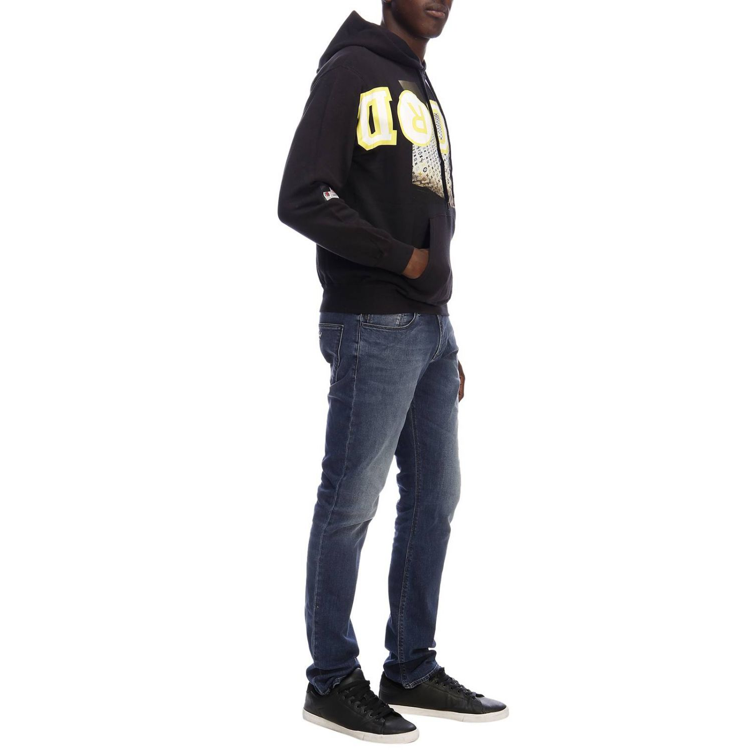 Pull homme Sold Out noir 5