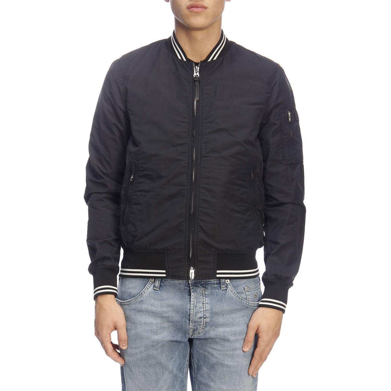 Jacket men Woolrich black 1