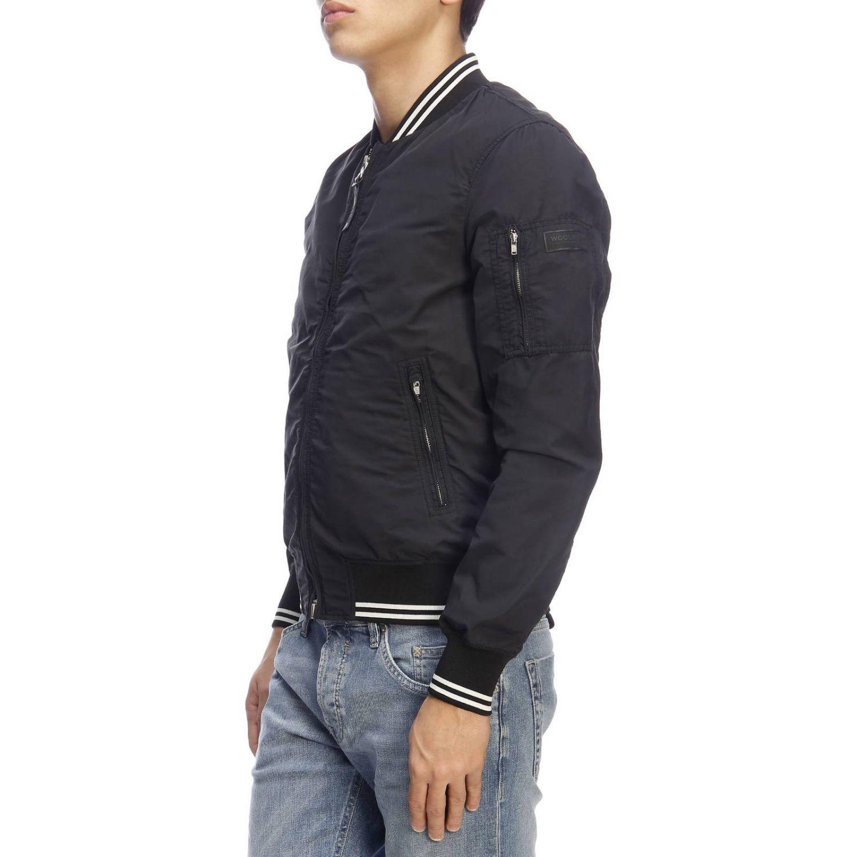 Jacket men Woolrich black 2