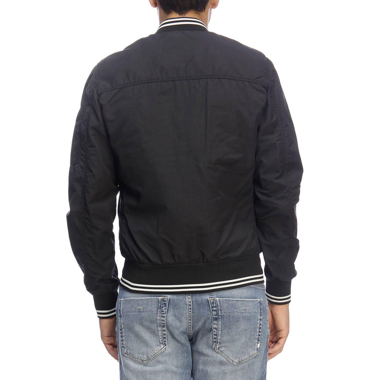 Jacket men Woolrich black 3