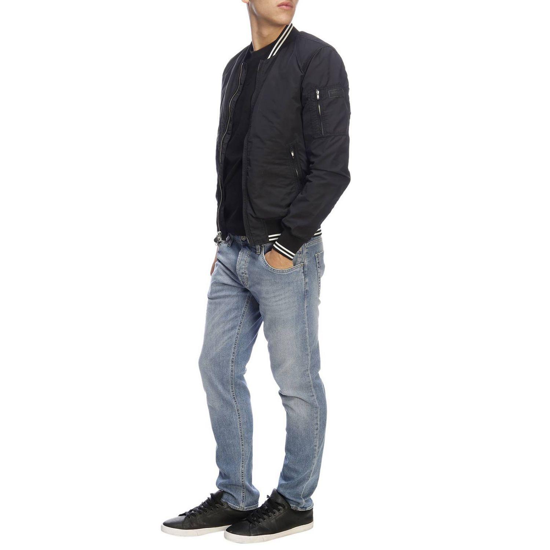 Jacket men Woolrich black 4
