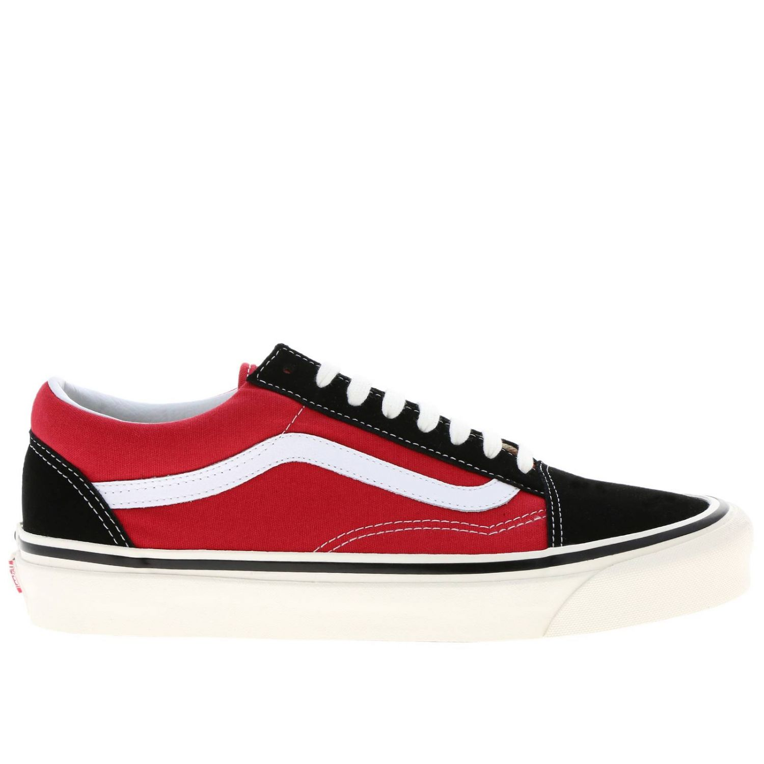 chaussure rouge homme vans