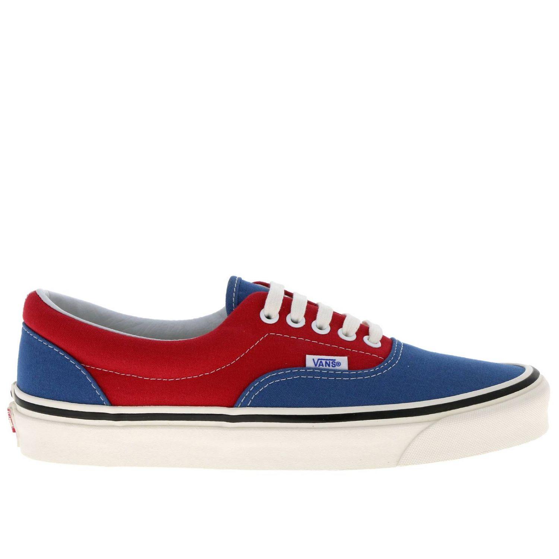 Shoes men Vans red 1