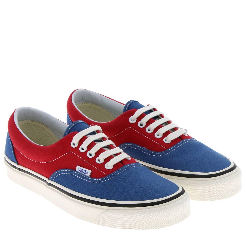 Shoes men Vans red 2