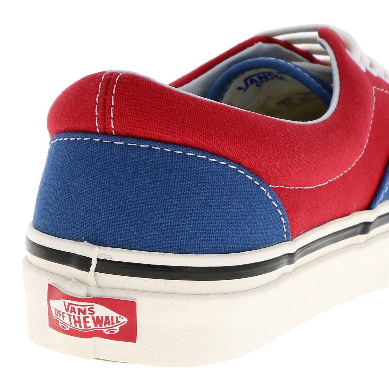 Shoes men Vans red 4