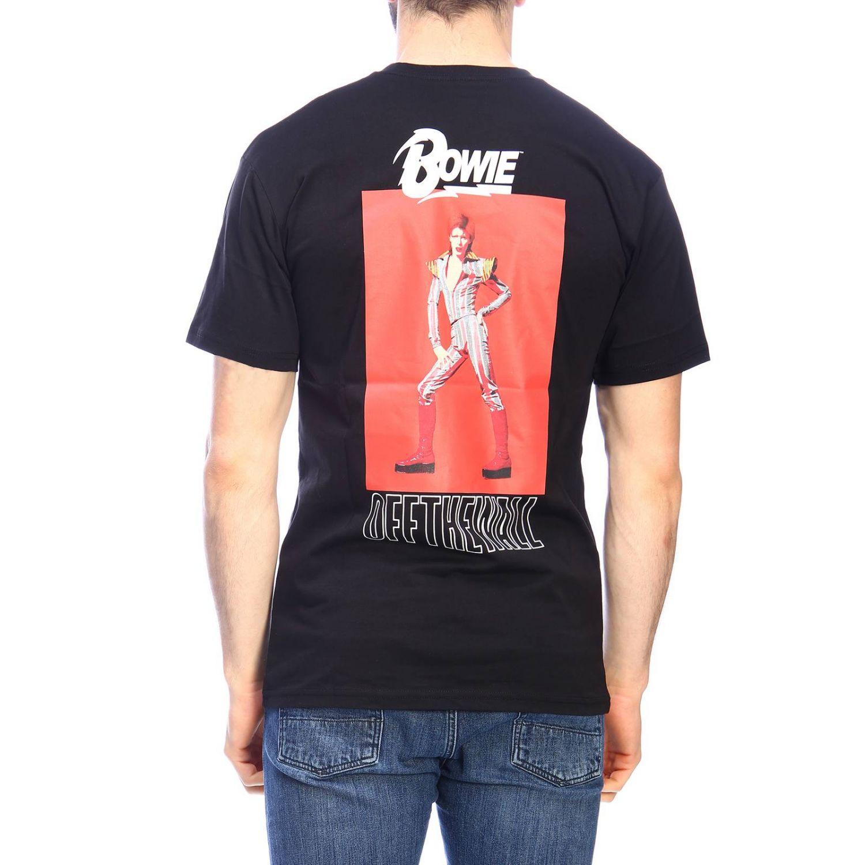 T-shirt men Vans black 3