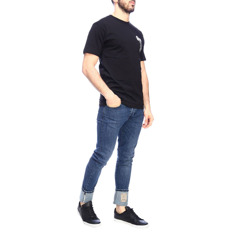 T-shirt men Vans black 4