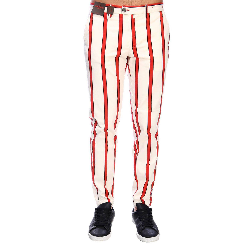 裤子 男士 Baronio 红色 1
