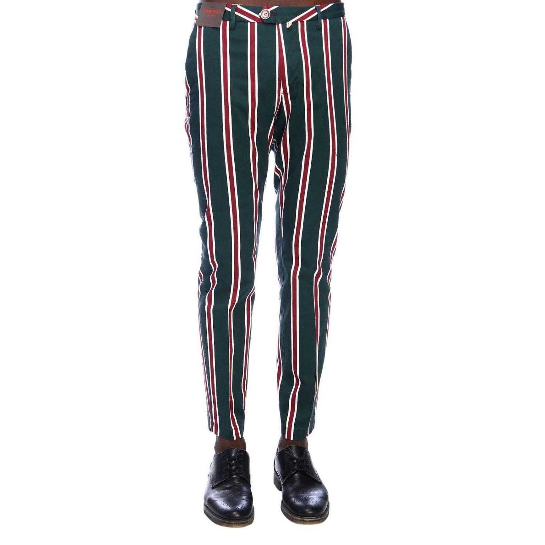 裤子 男士 Baronio 绿色 1