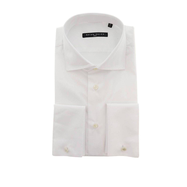 Camisa hombre Brian Dales Camicie blanco 1