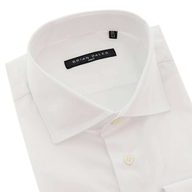 Camisa hombre Brian Dales Camicie blanco 2