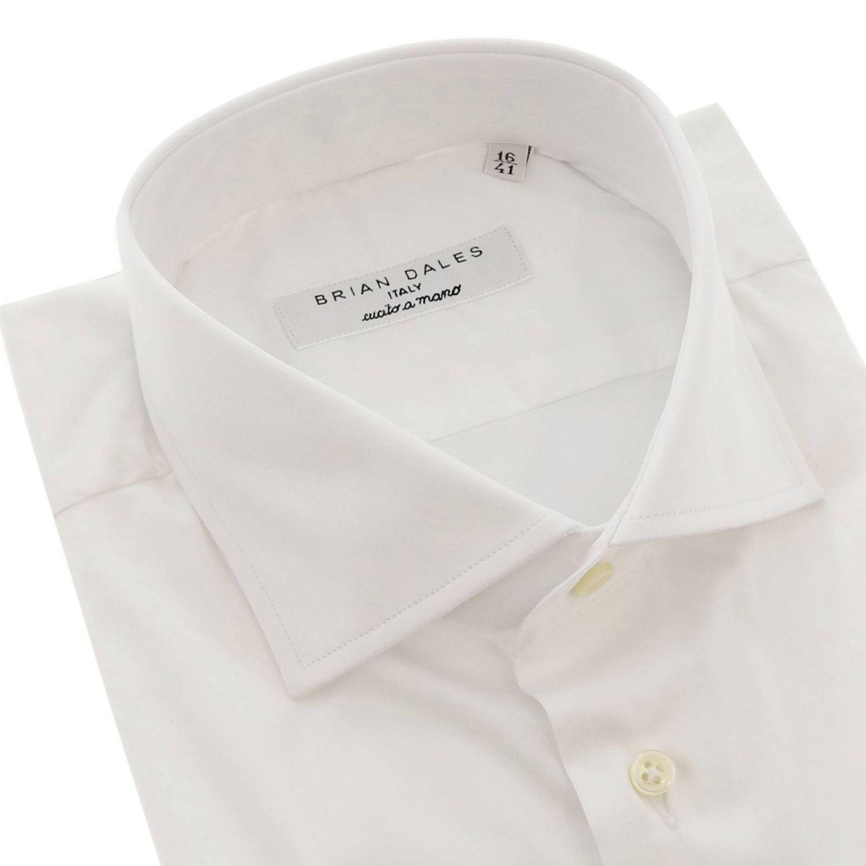 Hemd herren Brian Dales Camicie weiß 2