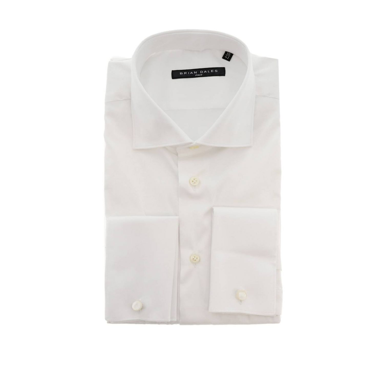 Shirt men Brian Dales Camicie white 1