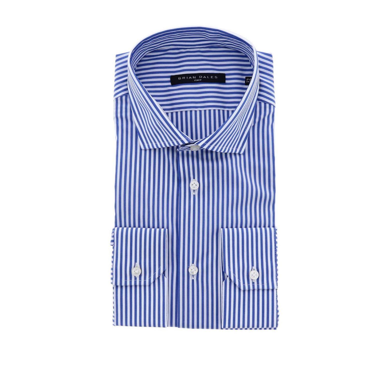 Chemise homme Brian Dales Camicie bleu 1