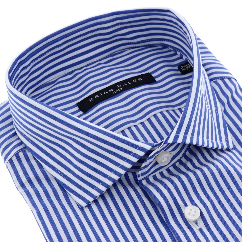 Chemise homme Brian Dales Camicie bleu 2