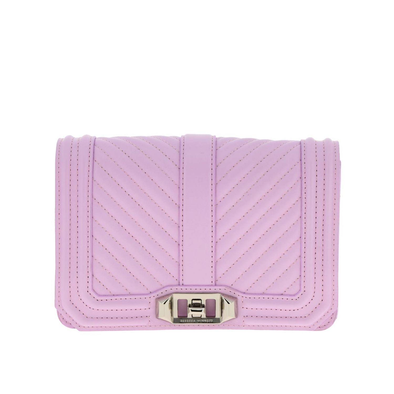 Shoulder bag women Rebecca Minkoff pink 1