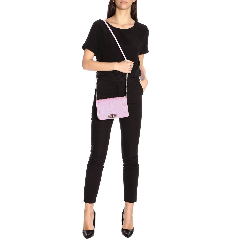 Shoulder bag women Rebecca Minkoff pink 2