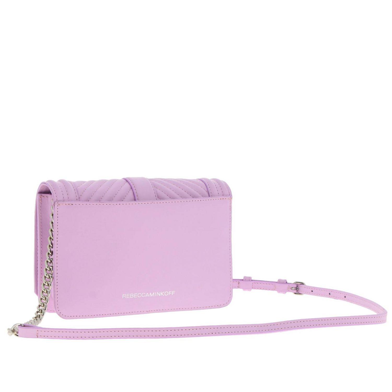 Shoulder bag women Rebecca Minkoff pink 3