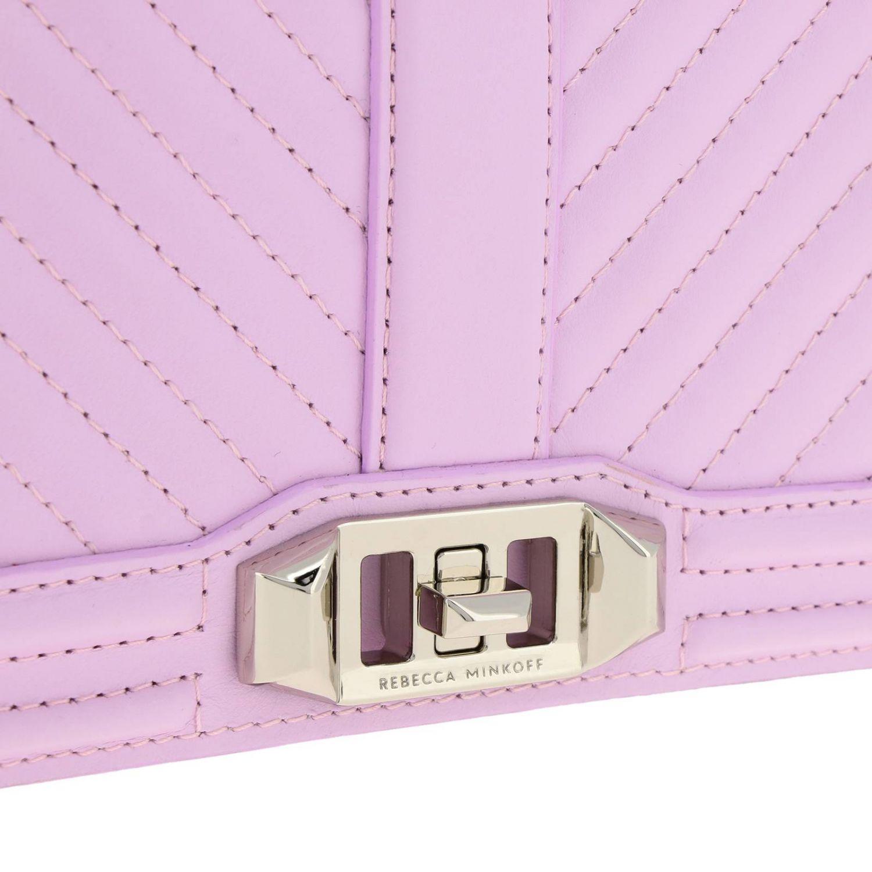 Shoulder bag women Rebecca Minkoff pink 4