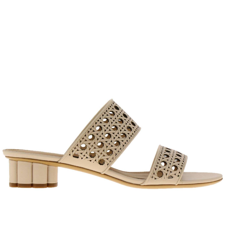 Обувь Женское Salvatore Ferragamo сливки 1