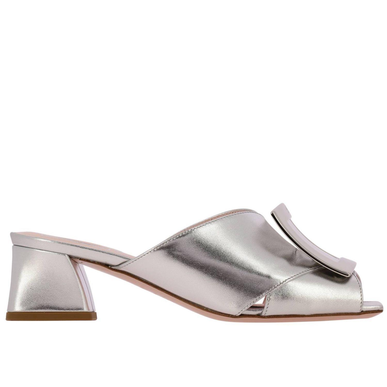 Shoes women Roger Vivier silver 1