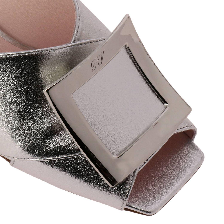 Shoes women Roger Vivier silver 3