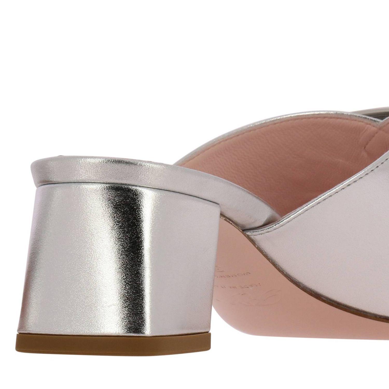 Shoes women Roger Vivier silver 4