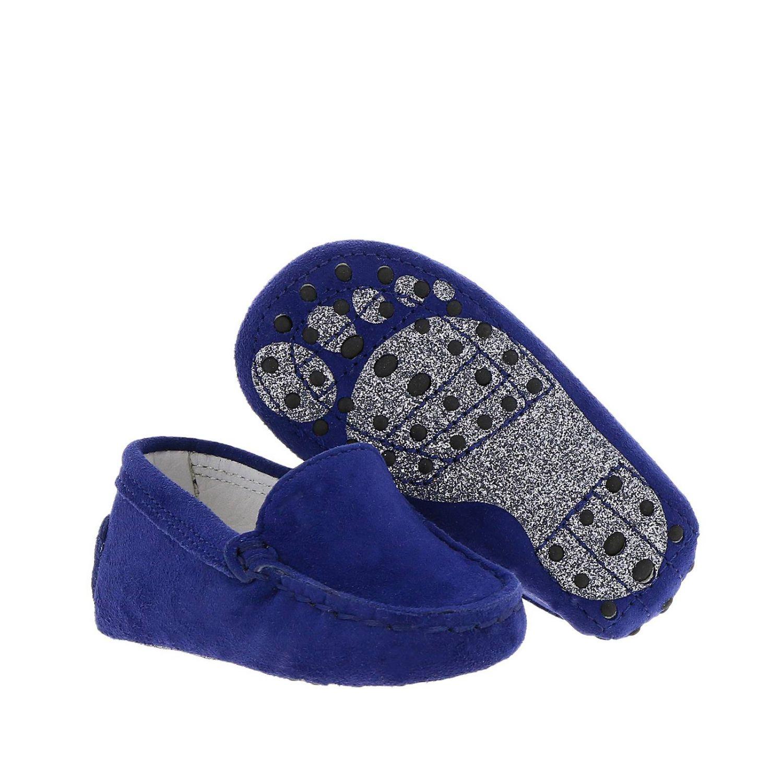 Zapatos niños Tod's azul oscuro 2