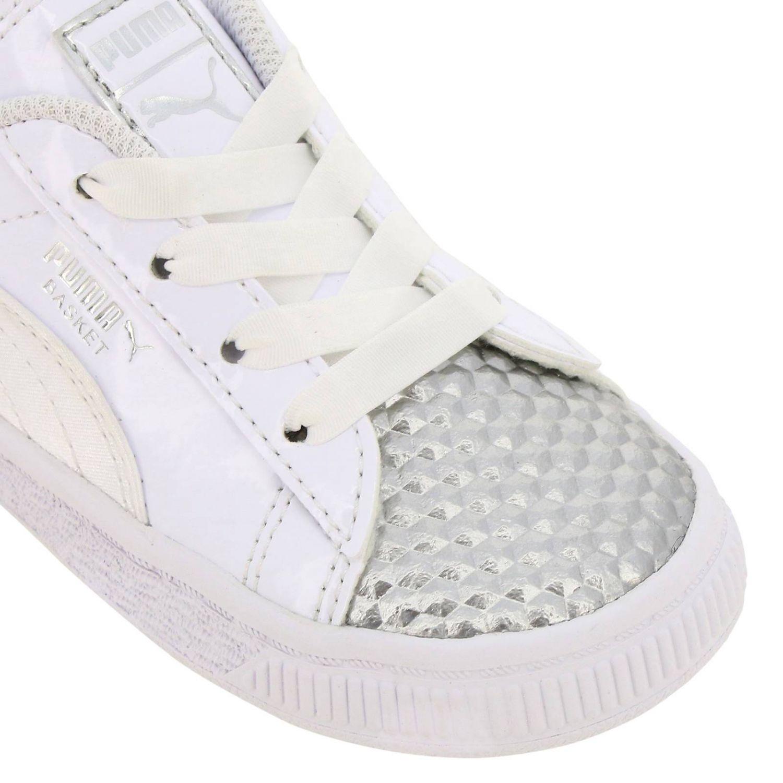 scarpe puma vernice bimba