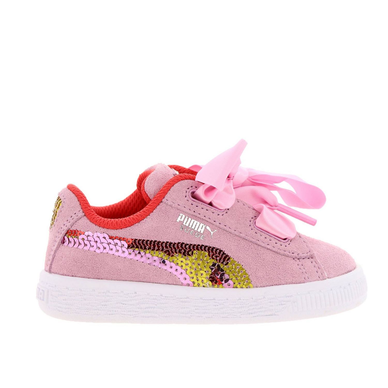 puma scarpe bambina con fiocco