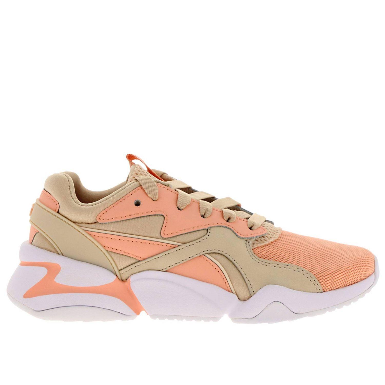 Baskets Puma: Chaussures femme Puma rose 1