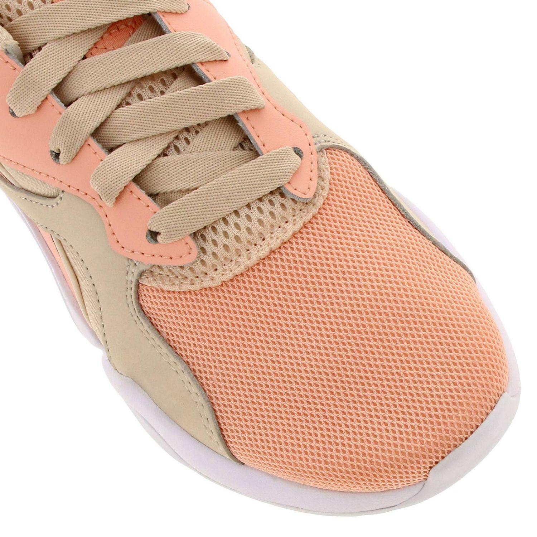 Baskets Puma: Chaussures femme Puma rose 3