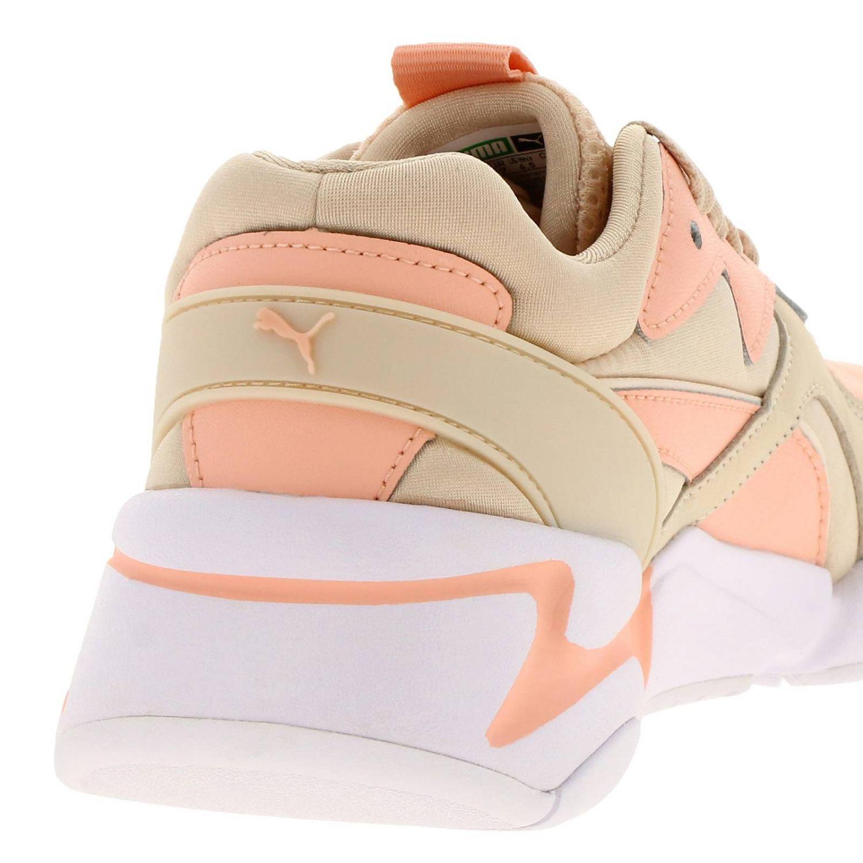 Baskets Puma: Chaussures femme Puma rose 4