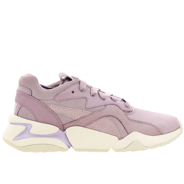Chaussures femme Puma beige 1