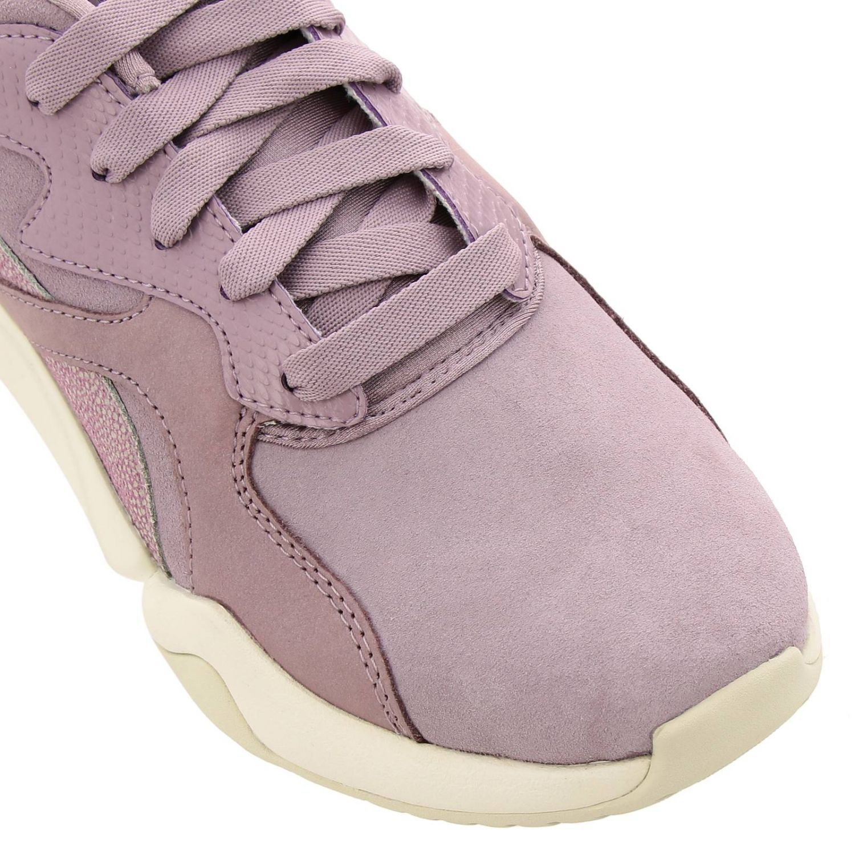 Sneakers Puma: Nova grunge sneakers pelle e camoscio rosa 3