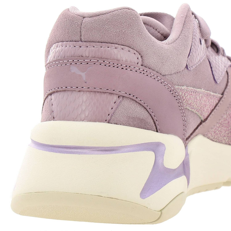 Sneakers Puma: Nova grunge sneakers pelle e camoscio rosa 4