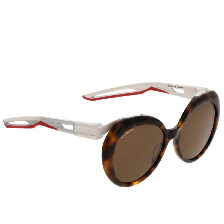 Солнцезащитные очки Balenciaga: Солнцезащитные очки Женское Balenciaga коричневый 1