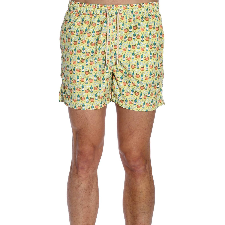 Swimsuit men Mc2 Saint Barth yellow 1