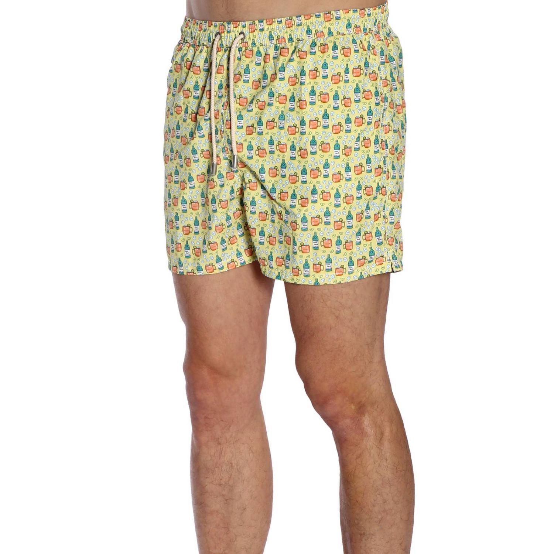 Swimsuit men Mc2 Saint Barth yellow 2