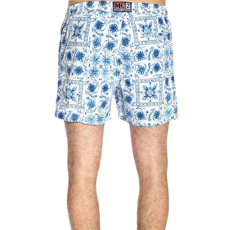 Swimsuit men Mc2 Saint Barth blue 3