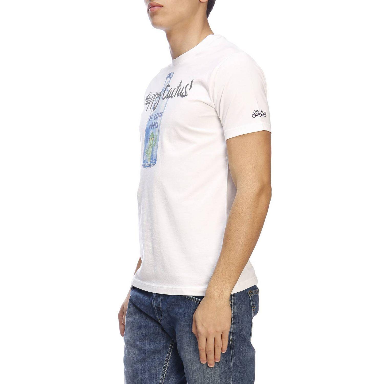 T-shirt men Mc2 Saint Barth white 2