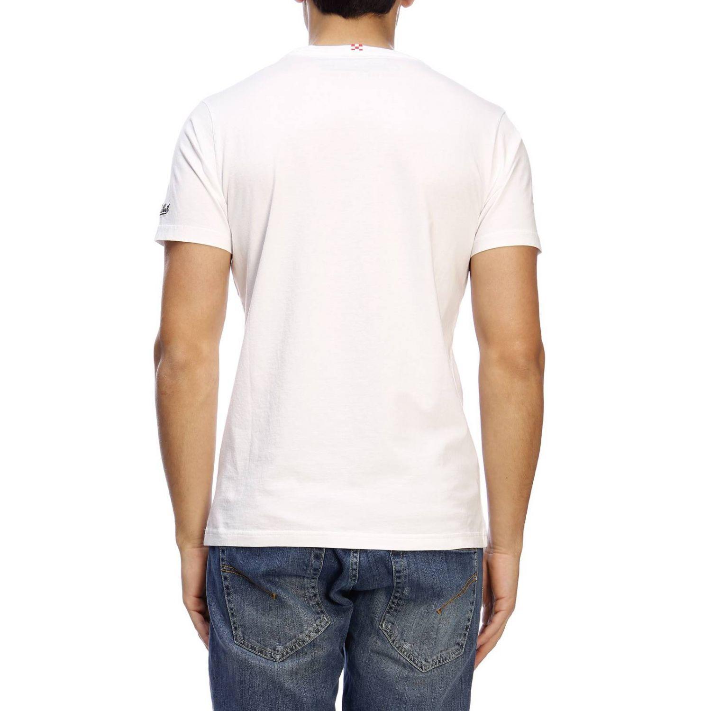 T-shirt men Mc2 Saint Barth white 3