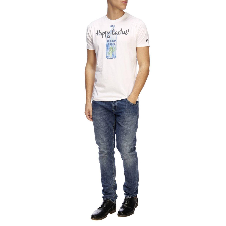 T-shirt men Mc2 Saint Barth white 4