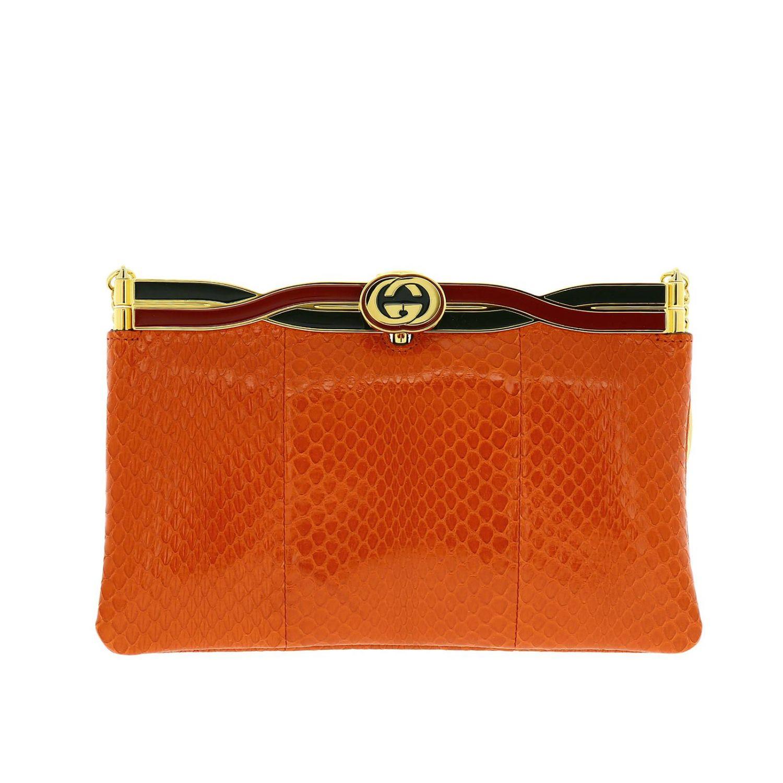 Shoulder bag women Gucci orange 1